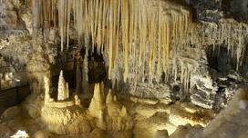 Tropfsteinhöhle grotte de clamouse